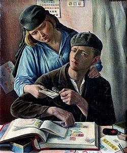 El Filatelista, de François Barraud (1929).