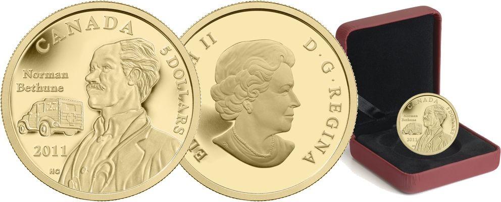 Moneda de Canadá, Dr Norman Bethune.