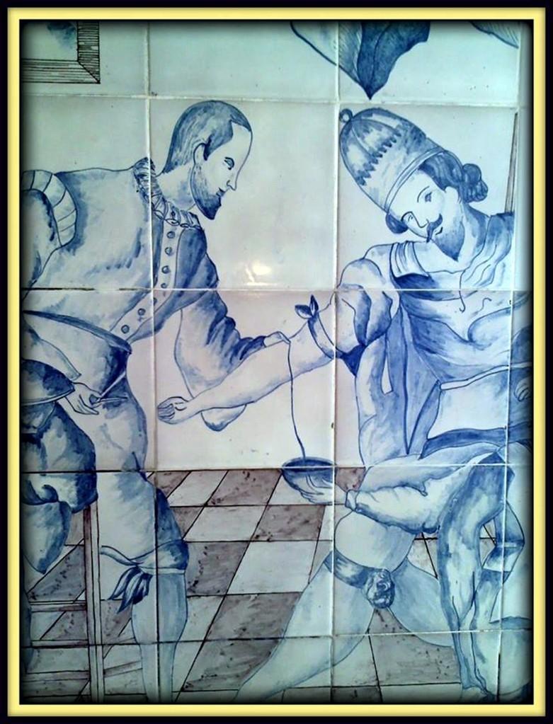 Mosaico del Hospital Nuestra Sra. de Gracia, Zaragoza, ESPAÑA