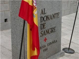 HOMENAJE AL DONANTE DE SANGRE EN SAN LORENZO DE EL ESCORIAL, 15-02-2007.