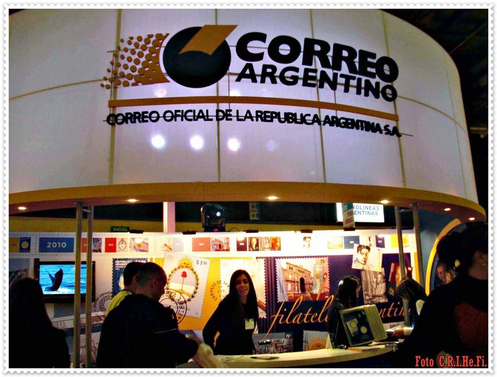 Bienvenidos al Correo Oficial de la República Argentina.