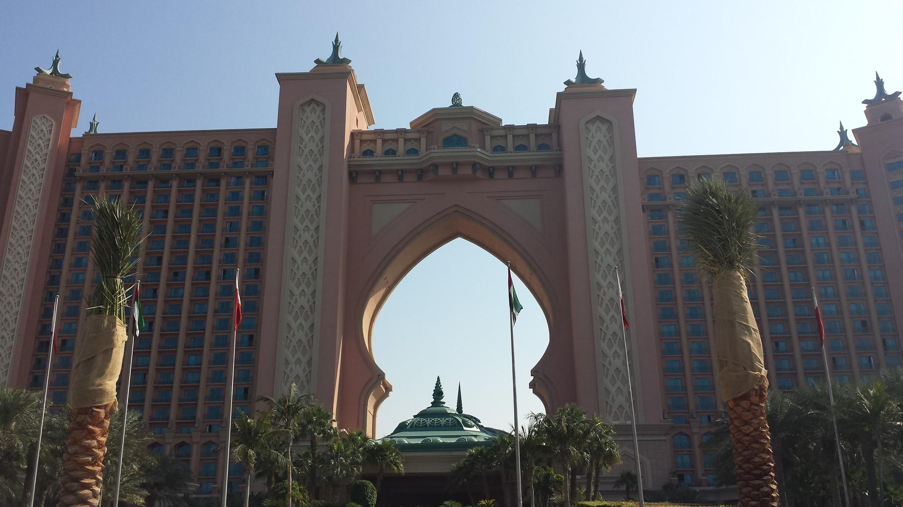 Hotel Atlantis auf der Palme