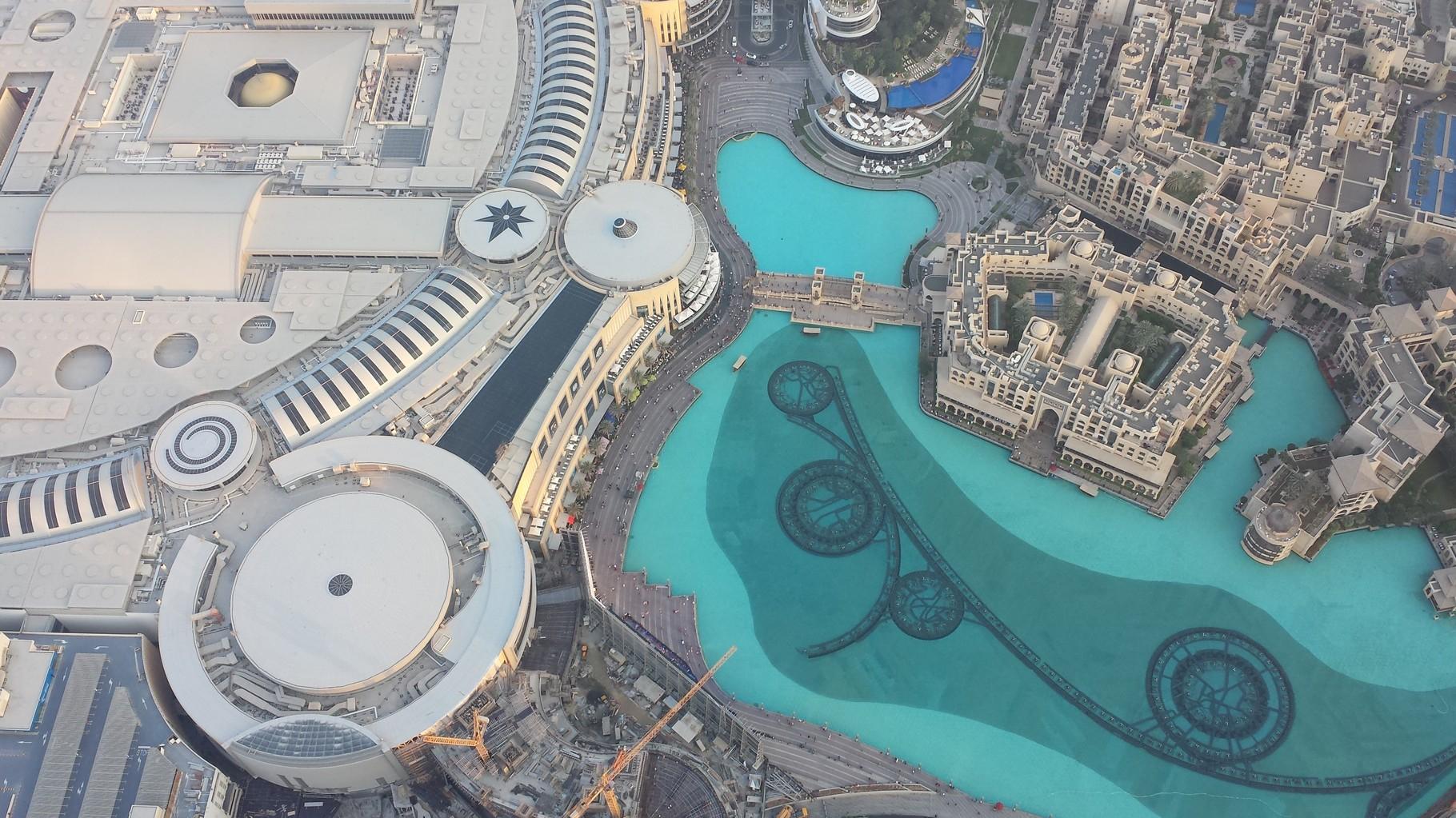 Eindrücke aus 400m Höhe