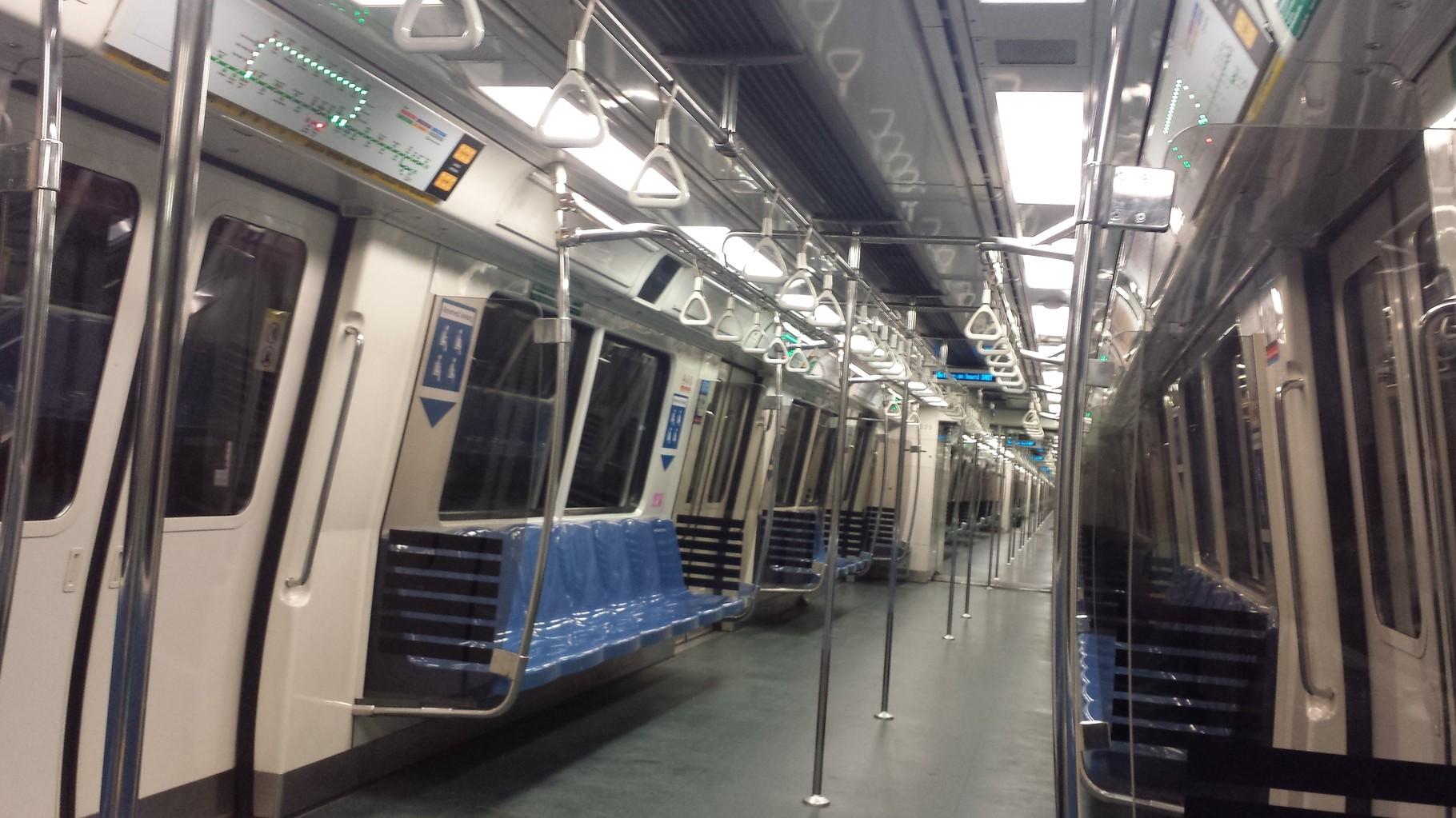 Metro innen
