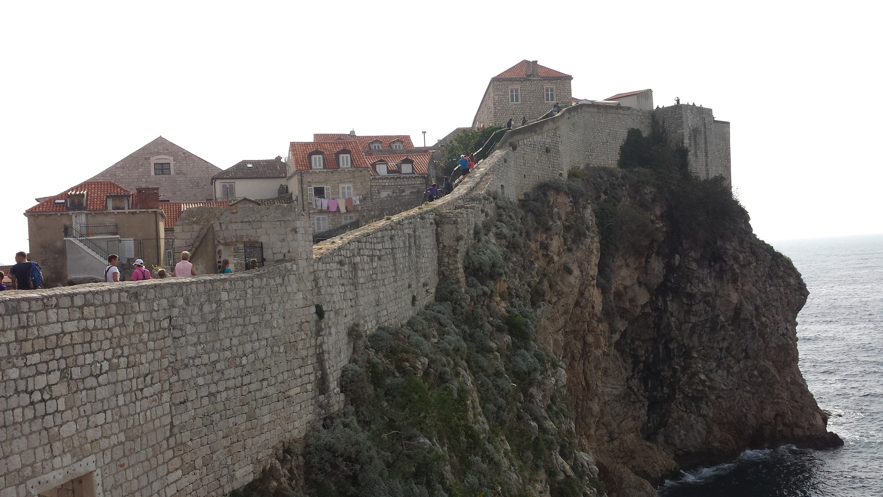 begehbare Stadtmauer