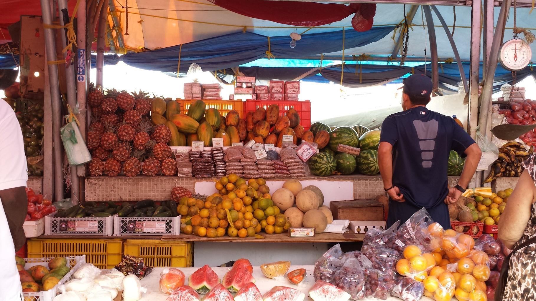 Obst und Gemüse Floating Market