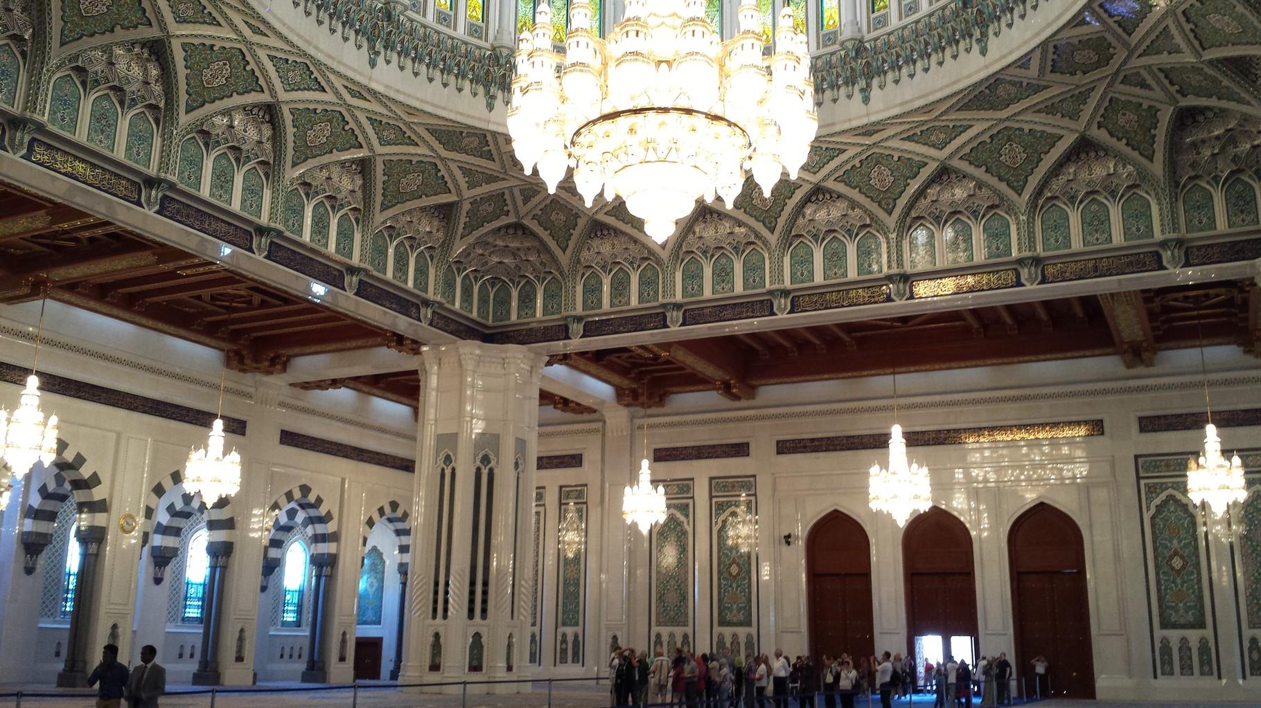 Innenansicht Moschee