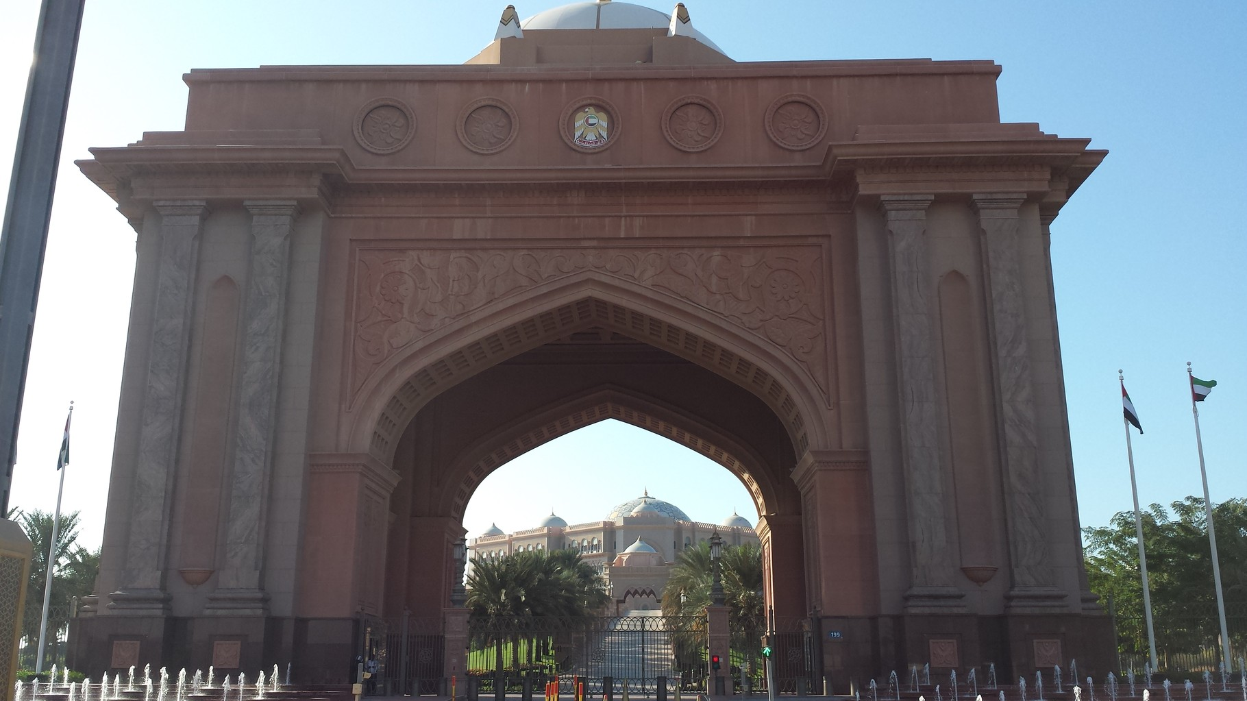 Promi-Eingang Emirates Palace