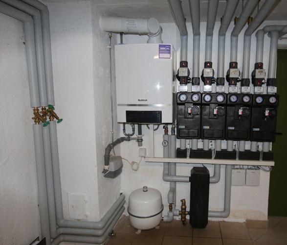 Sanierung einer Gasbrennwert-Anlage