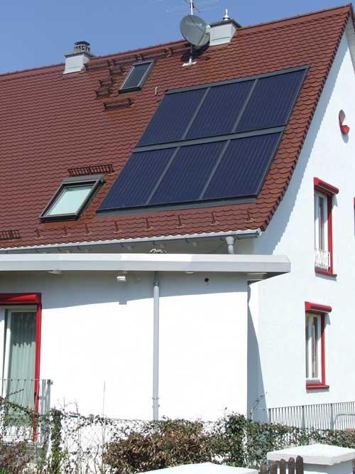 Indach-Solaranlage