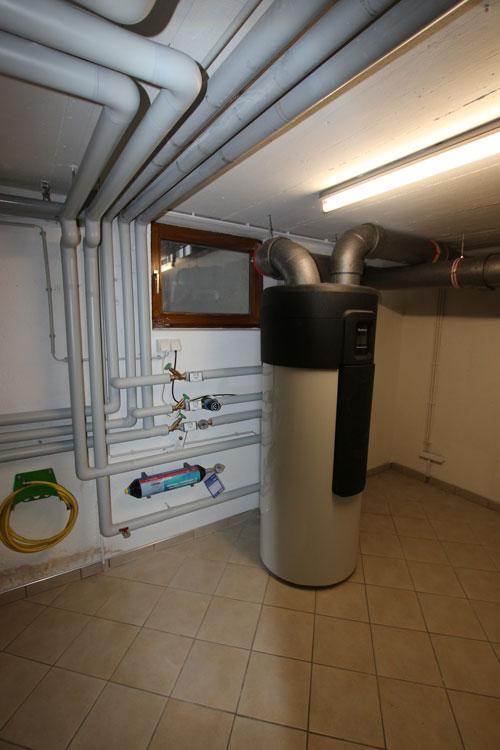 Trinkwasser-Wärmepumpenanlage