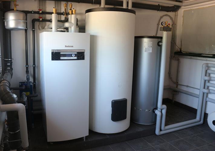 Grundwasser-Wärmepumpen-Anlage