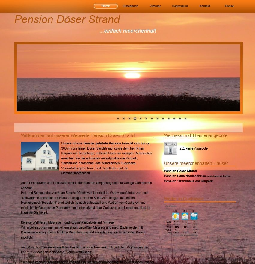 www.pension-doeser-strand.de