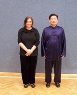 mit Großmeister Chen Xiaowang