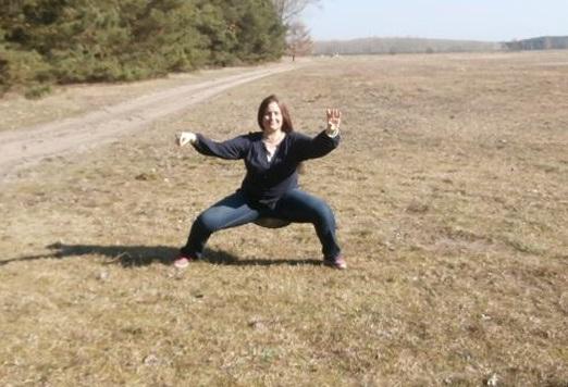 Xinjia-Training auf freiem Feld 2014