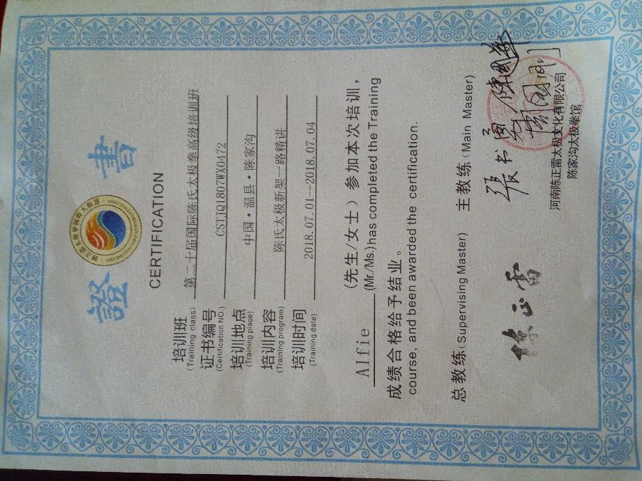 Mehrtägige advanced Xinjia Vertiefung beim Symposium in China