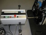 Messtechnische Kontrolle an einem Ergometer
