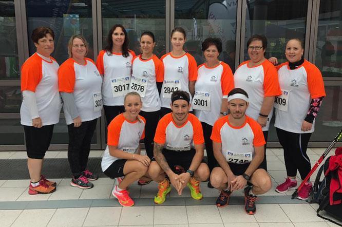 Sportlich unterwegs beim Halbmarathon Altötting (2018)