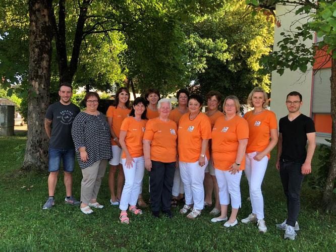 Das Team der Seniorenhilfe Isental 2019.