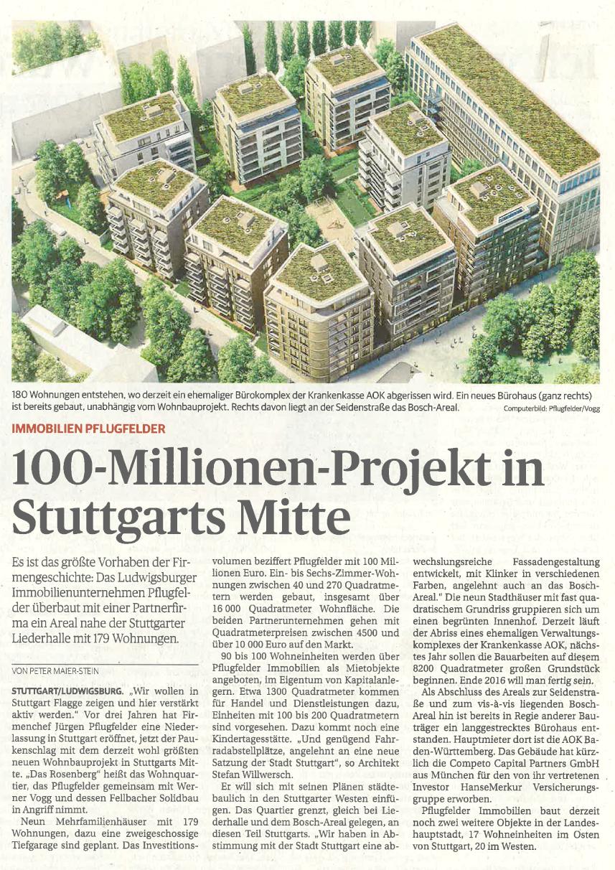 Ludwigsburger Kreiszeitung / 14.10.2014