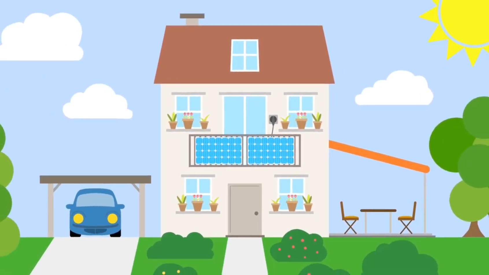 Solarenergie auf dem eigenen Balkon – Teilnehmende gesucht!