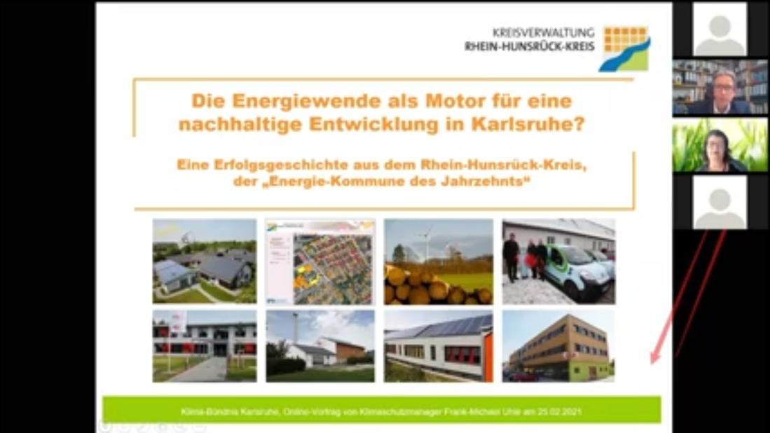 Die Energiewende als Motor für eine nachhaltige Entwicklung in Karlsruhe