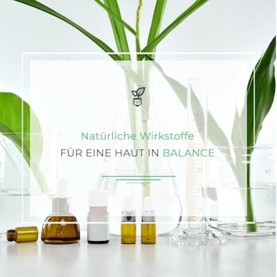 Naturkosmetik gegen trockene unreine Haut