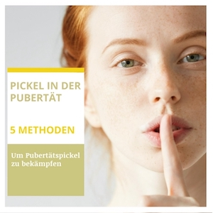 Pickel in der Pubertät - 5 Methoden um sie zu bekämpfen