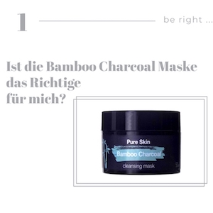 Bamboo Charcoal Tonerde Maske gegen Mitesser
