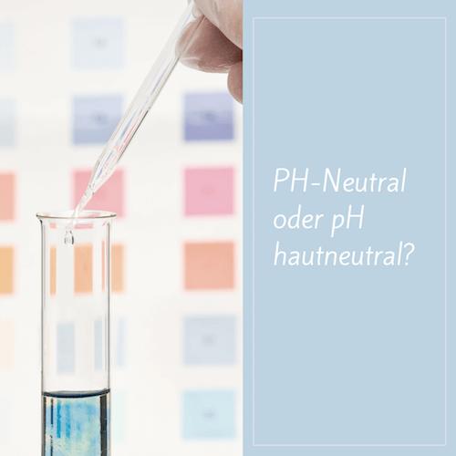 Gute Gesichtsreinigung ist pH-neutral