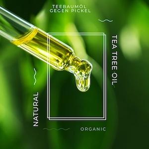 Teebaumöl gegen Pickel in der Pubertät