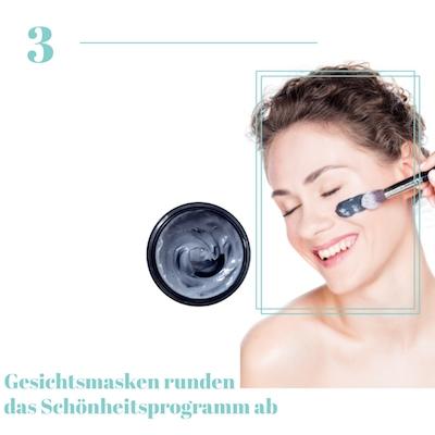 Porenverfeinerde Gesichtsmasken
