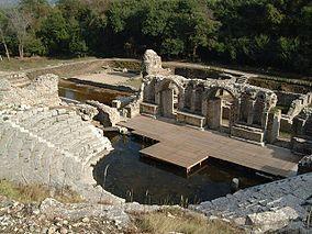 UNESCO-Weltkulturerbe, Ausgrabungsstaetten- Butrint.