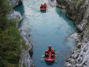 Kajak u. Kanu in Nord u. Sued Albanien
