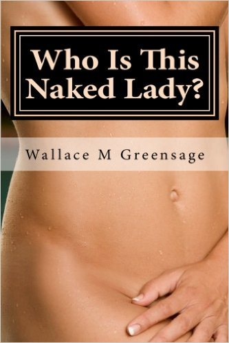 Paperbook cover for Wally's nudist-themed book