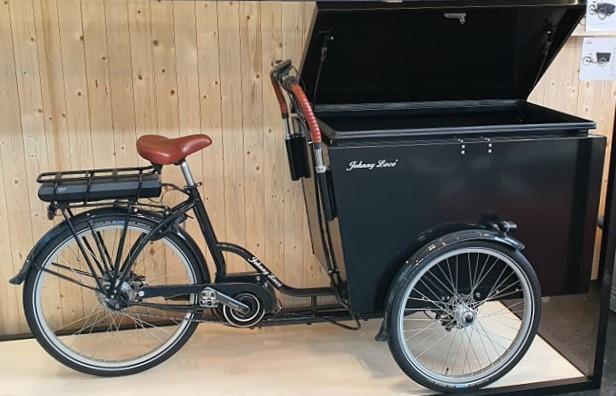 Johnny Loco Delivery eCargo BOX Prototyp für 2021