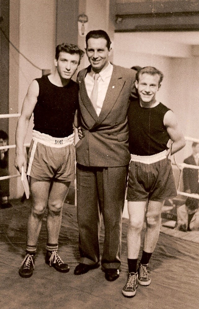 Hess.Juniorenmeister v.l. Guido Glück, Heinrich Sommer