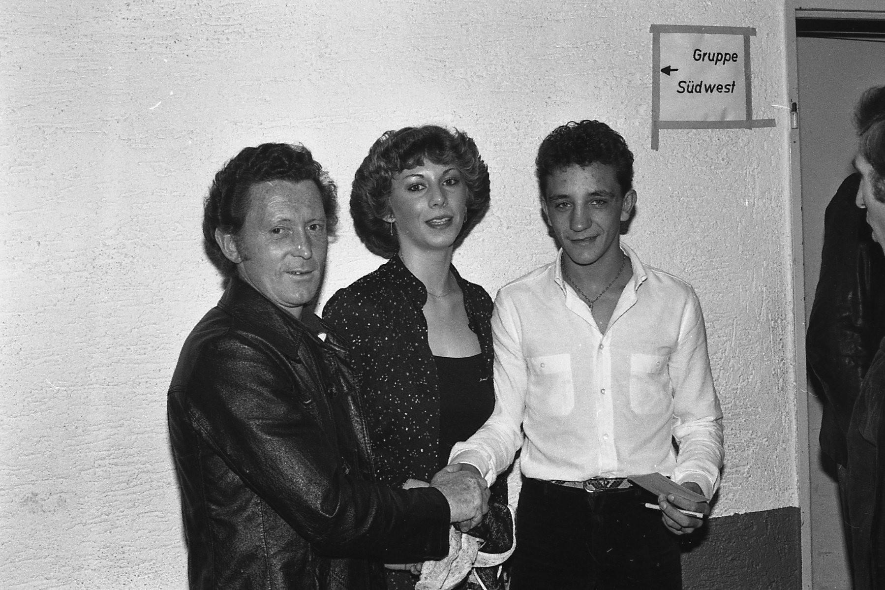 Rudi Moos mit Stefan Gertel
