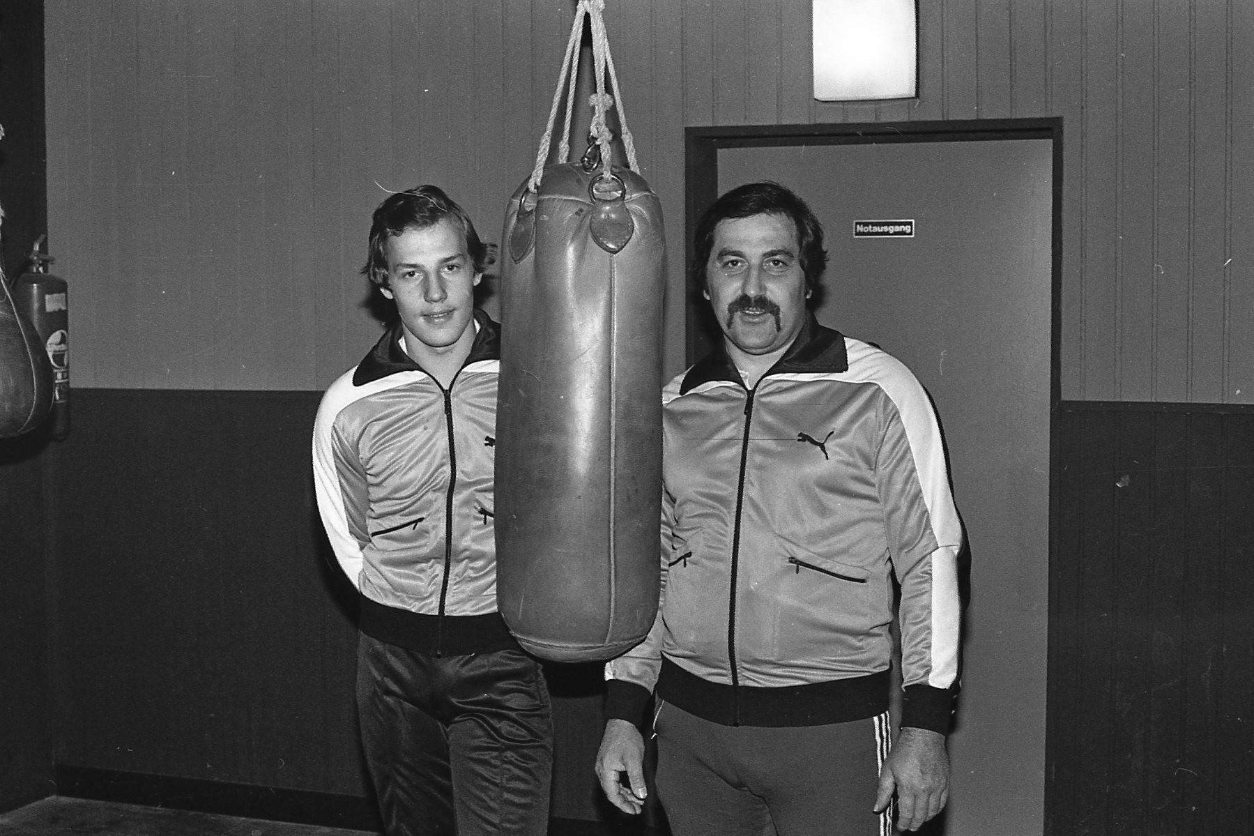 Roberto Caruso mit Vater und Trainer Giovanni Caruso