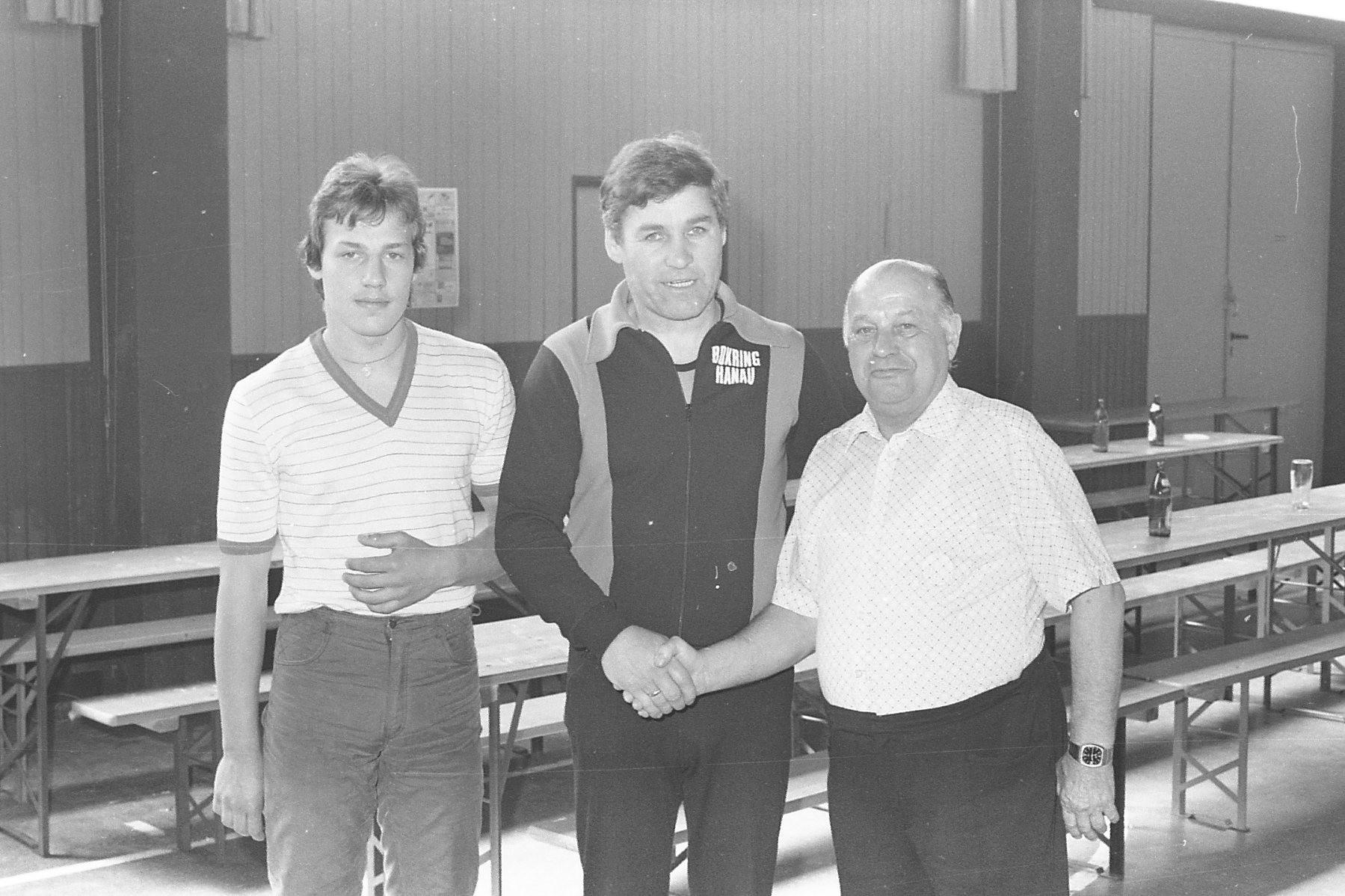 v.l. Roberto Caruso,Georg Krenz, Ph.Sommer,sen.