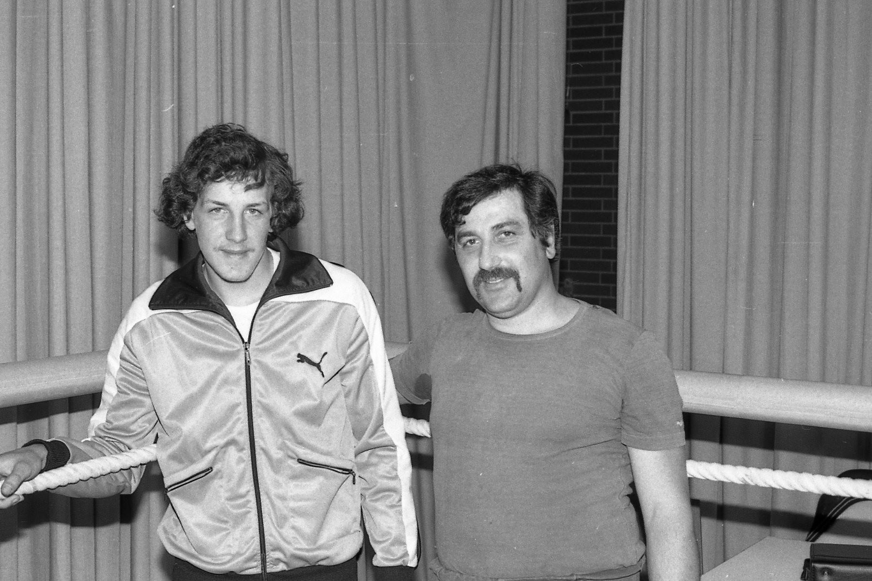 Mario Caruso mit Vater und Trainer Giovanni Caruso