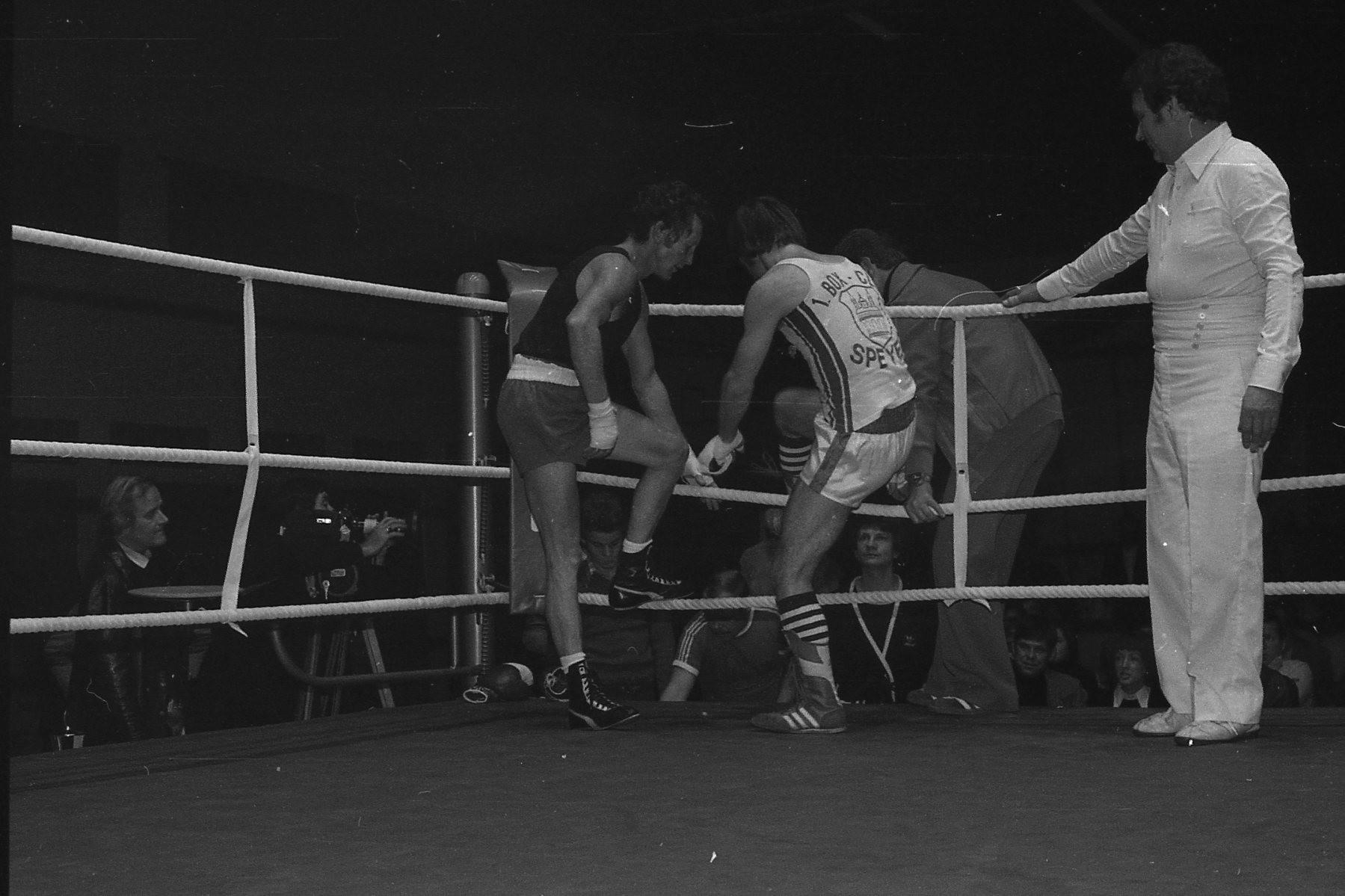 v.l. Rudi Moos sportlich und fair