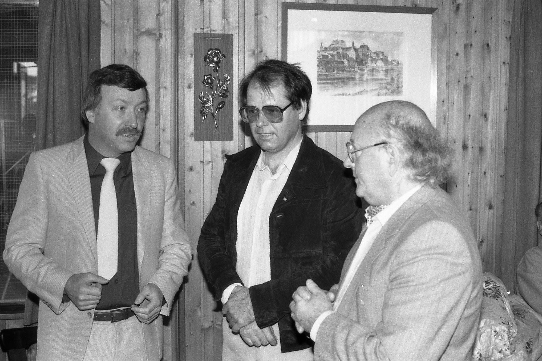 v.l. Guido Glück, Gisbert Dieter, Bgm. Hans Pfeiffer