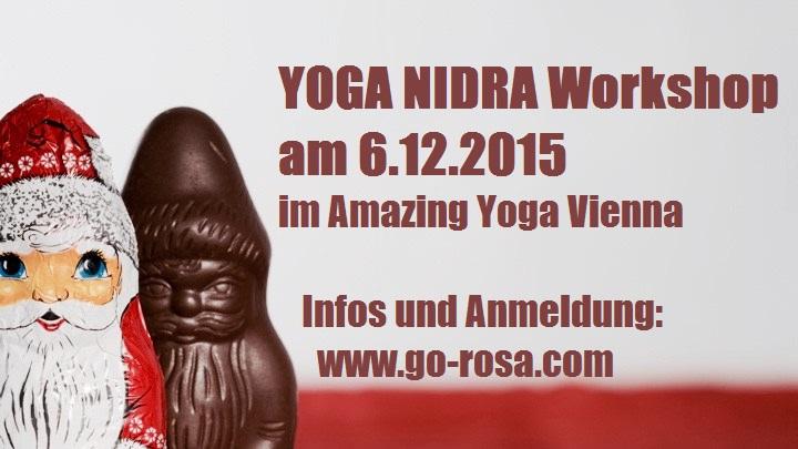 Yoga Nidra Workshop im Amazing Yoga Vienna