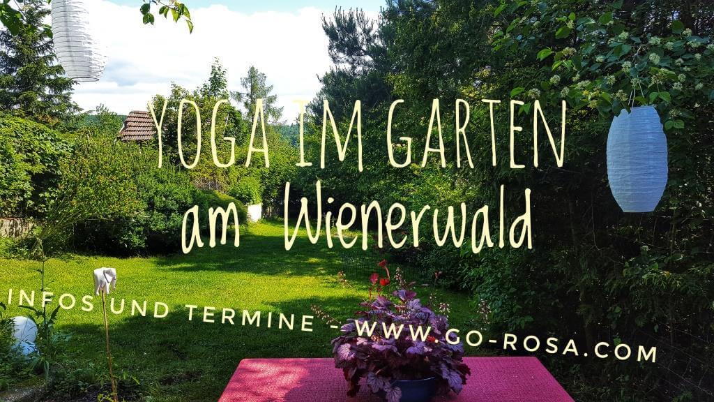 Yoga im Garten am Wienerwald