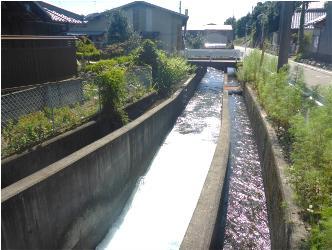 用水路の写真