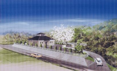 下水道処理施設の完成イメージ図