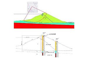 ため池耐震性能に関するの図面