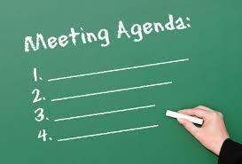 Organiza bien la agenda para una reunión efectiva - AorganiZarte