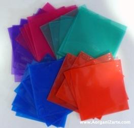 Fundas de CD de colores - AorganiZarte